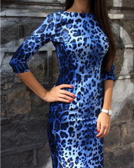 Рокля | Blue Splash | SHADE Boutique