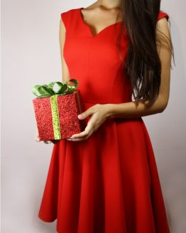 Рокля | Festive Red | SHADE Boutique