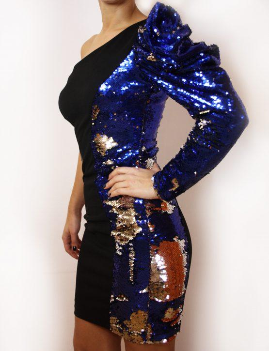 Рокля   Blue Sparkle   SHADE Boutique