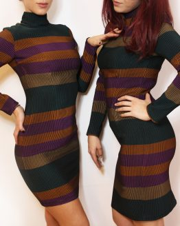 Рокля | Colorful Stripe | SHADE Boutique