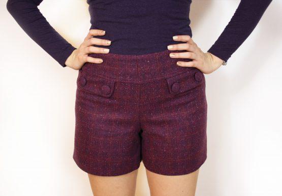 Къси Панталонки | The Purple Square | SHADE Boutique