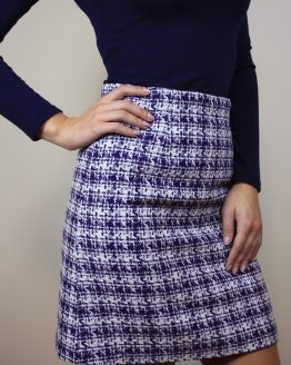 Пола | Dark Lilac Skirt | SHADE Boutique