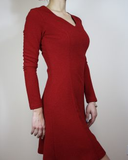 Рокля | Christmas Red | SHADE Boutique